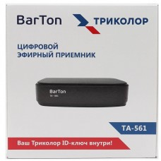Приемник цифровой эфирный BarTon TA-561