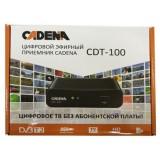 Приемник цифровой эфирный CADENA CDT-100